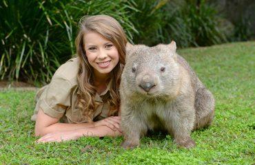 Bindi Irwin & Wombat